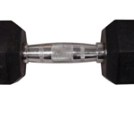 40 pound rubber hex dumbbell