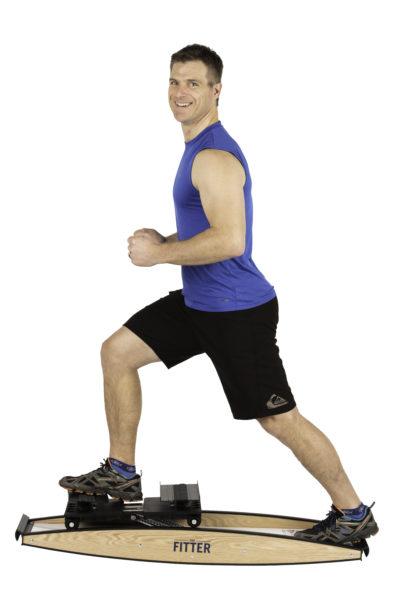 Quad Extension on Pro Fitter Ski Trainer