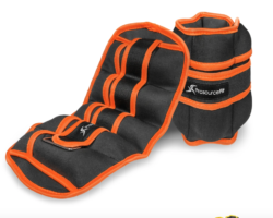 7 lb. adjustable ankle weights
